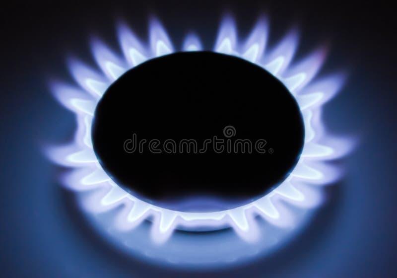 Fiamma di gas immagine stock libera da diritti