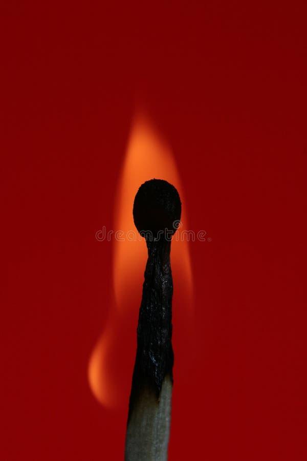 Download Fiamma tremula immagine stock. Immagine di ustione, arancione - 203793