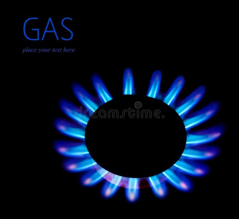 Fiammata del gas immagini stock