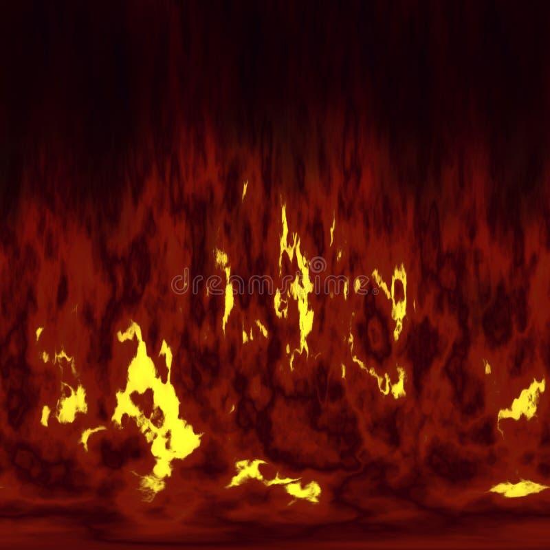fiamme del fuoco fotografia stock
