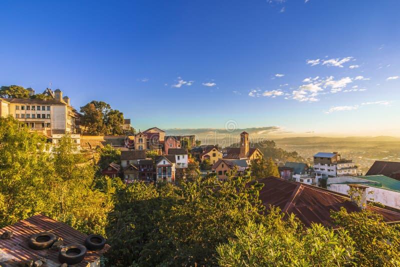 Fianarantsoa Ville Haute - Antananarivo, Madagascar images libres de droits