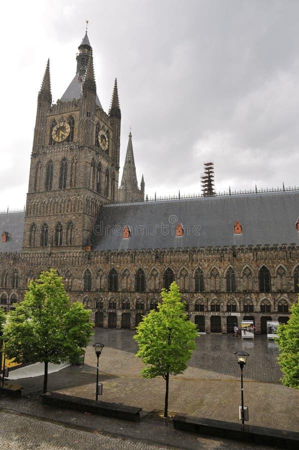 In Fiandre sistema il museo immagine stock