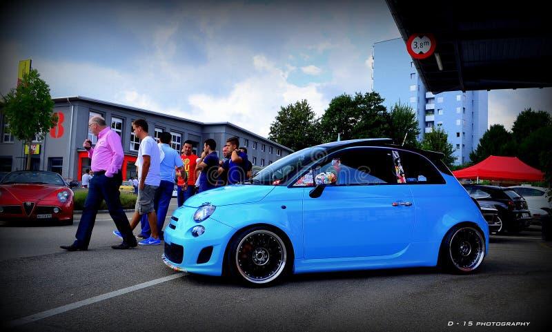 Fiat 500 Baby Blue Free Public Domain Cc0 Image