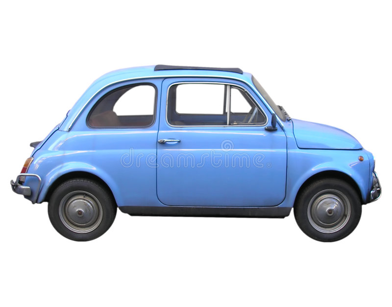 Fiat 500 car stock photo