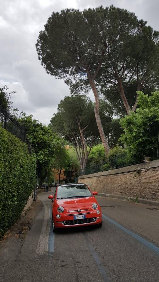 Free Fiat 500, Rome, Italy Royalty Free Stock Photo - 70410305