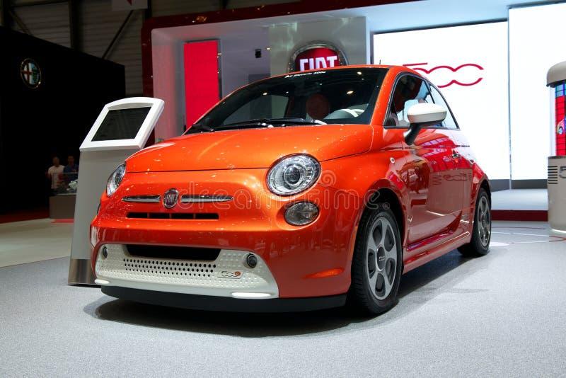 Download Fiat 500e 2014 Editorial Stock Photo - Image: 29692083