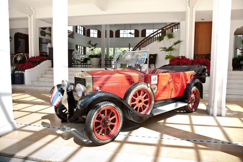 Fiat 503 na parada do carro do vintage foto de stock royalty free