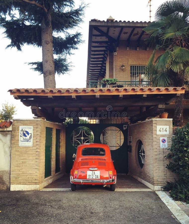 Fiat 500 fotografia de stock