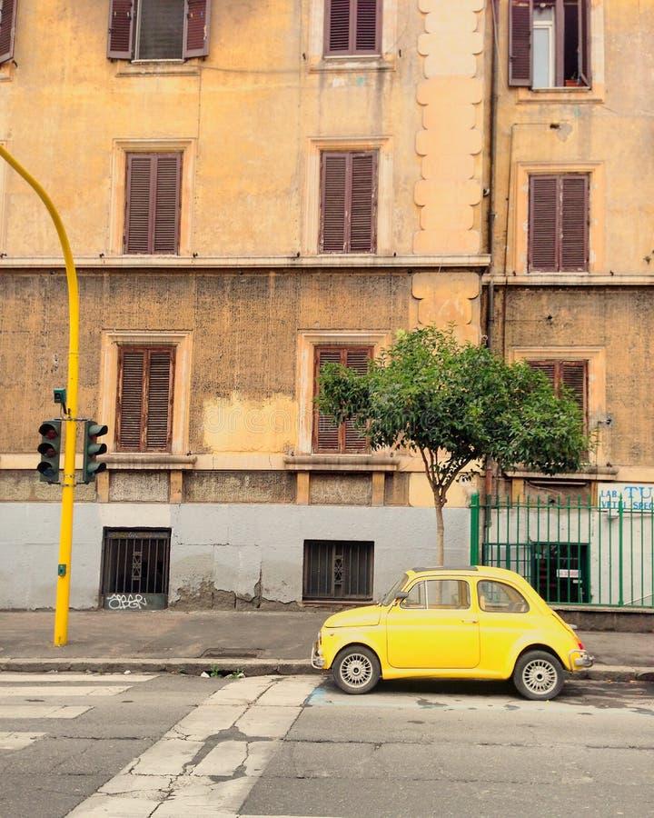 Fiat 500 photographie stock