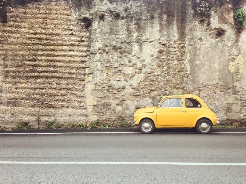 Fiat 500 imagem de stock