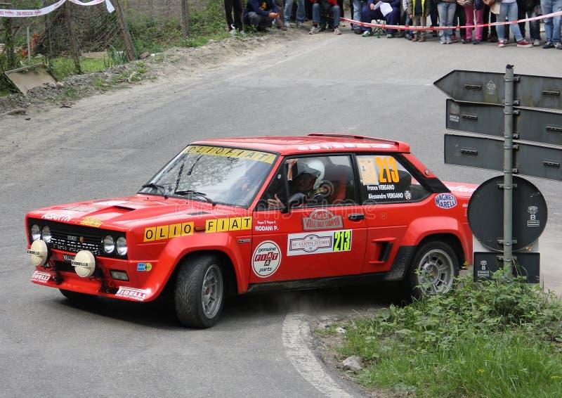 Fiat 131 Abarth immagine stock