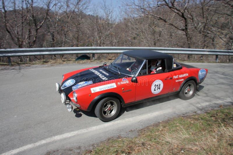 Fiat 124 Abarth foto de archivo