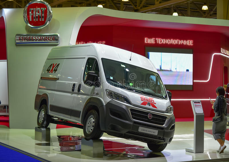 Fiat Ducato 295-AGB-4 stock photography