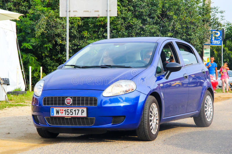 Fiat Grande Punto royalty-vrije stock foto
