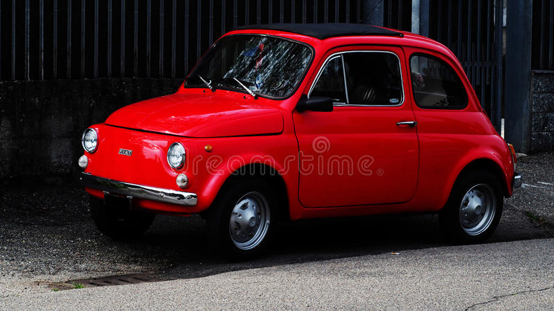 Fiat 500l L royalty free stock photography