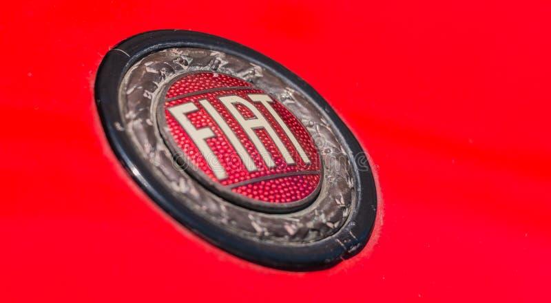 Fiat logo Retro zdjęcia stock