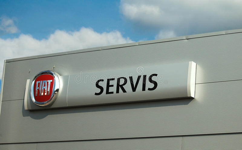 Download Fiat logo - servis editorial photo. Image of color, blue - 19258511