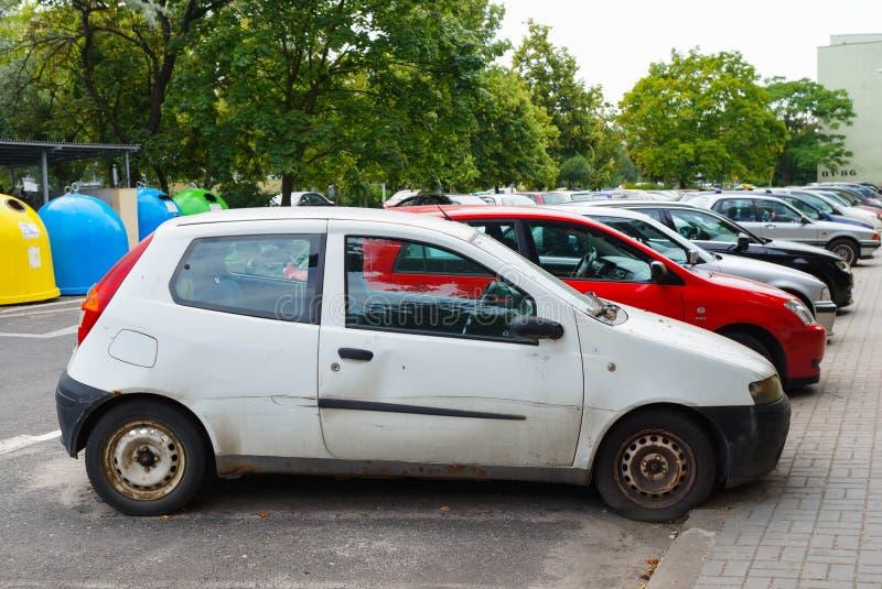 Fiat Punto fotografia stock