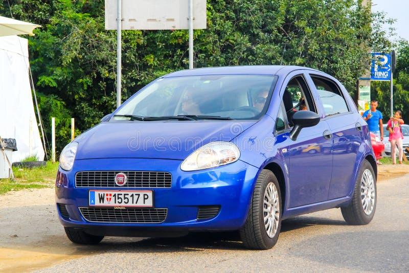 Fiat Punto grande fotografia stock libera da diritti