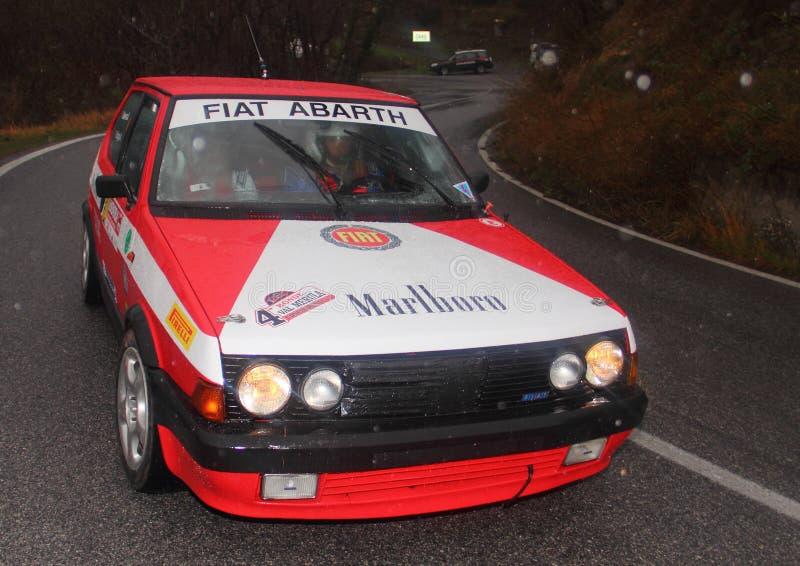 Fiat Ritmo Abarth 130 imagen de archivo libre de regalías