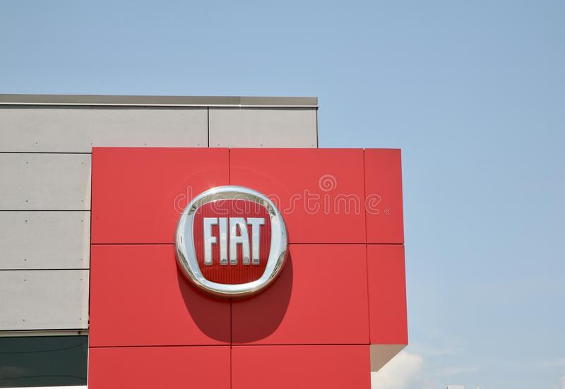 Fiat Samochód Korporacja obraz royalty free