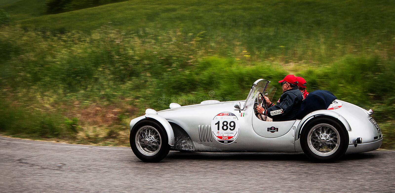 FIAT 1100 Sportsiluro 1949 stock fotografie
