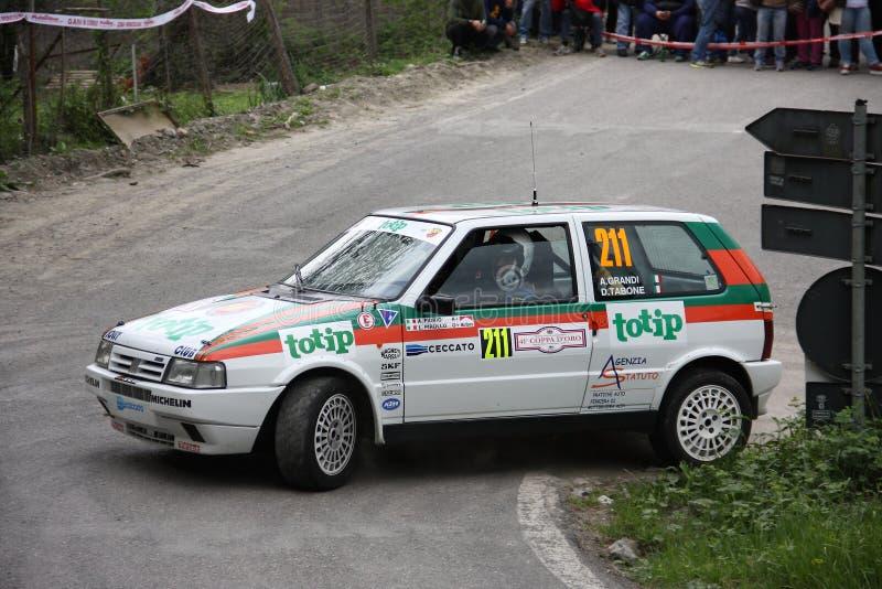 Fiat uno-turboladdare royaltyfri fotografi
