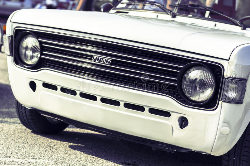 Fiat 128 stock images
