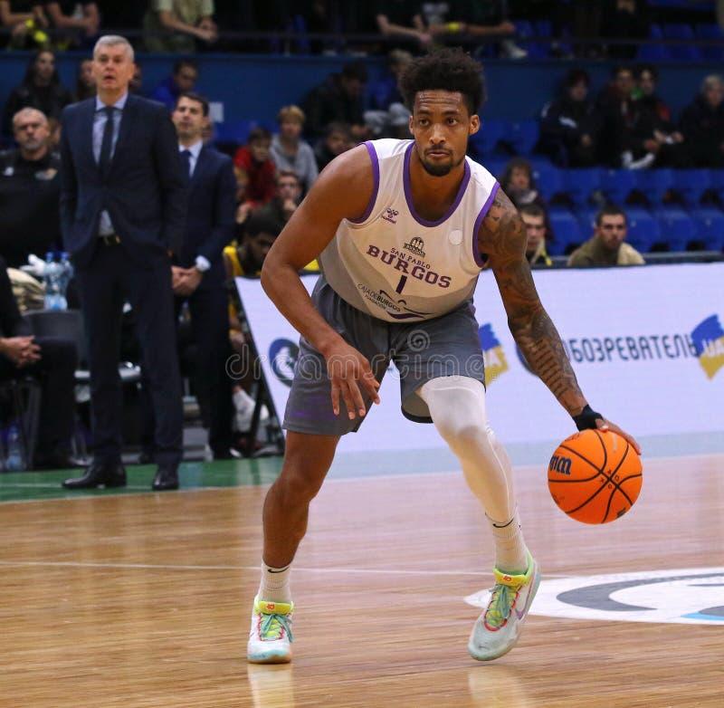 FIBA Basketball Champions League: BC Kyiv Basket v San Pablo Burgos stock photography