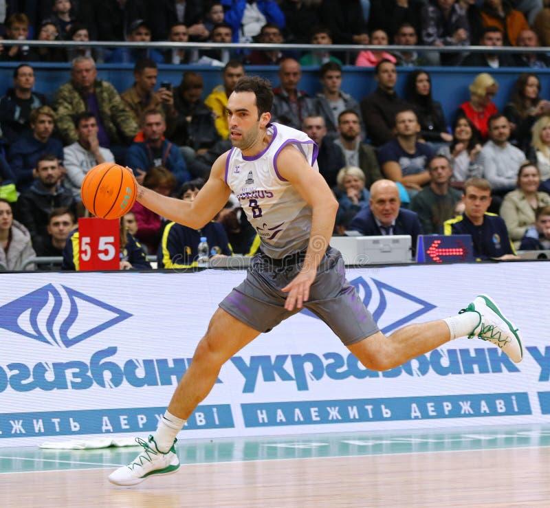 FIBA Basketball Champions League: BC Kyiv Basket v San Pablo Burgos royalty free stock images