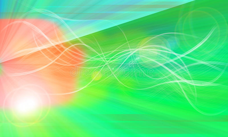 Download Fiber Glow And Effect Green System Background Of N Stock Illustration - Image: 12544339