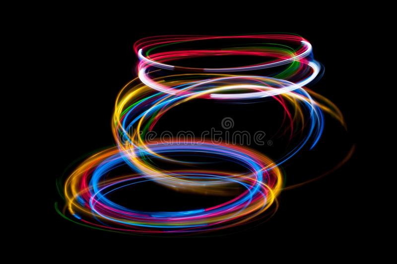 Strung with light royalty free stock image