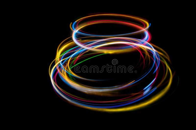 Strung with light stock images