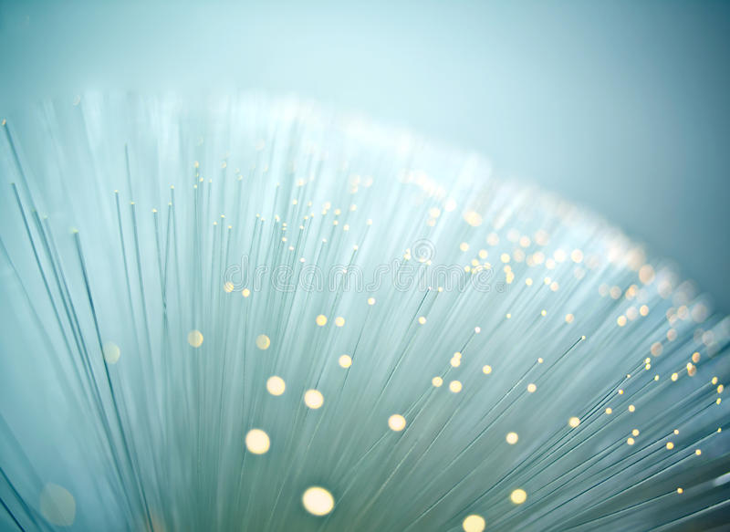 Fiber optic stock image