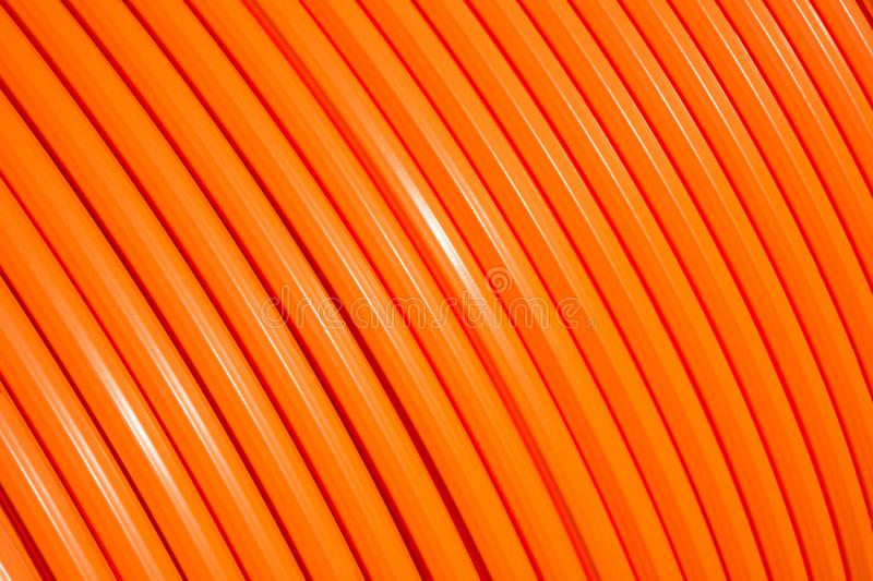 Fiber optic cable roll for broadband internet royalty free stock photography