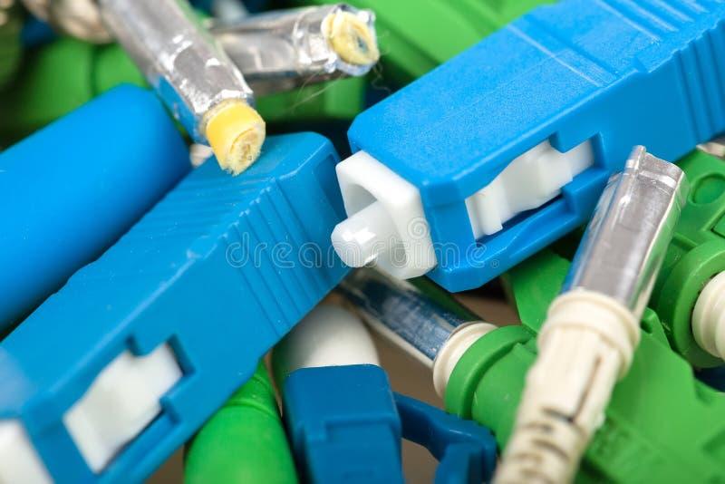 Download Fiber optic connectors stock photo. Image of optical - 37694986