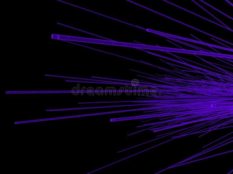 Fiber Optic royalty free stock image
