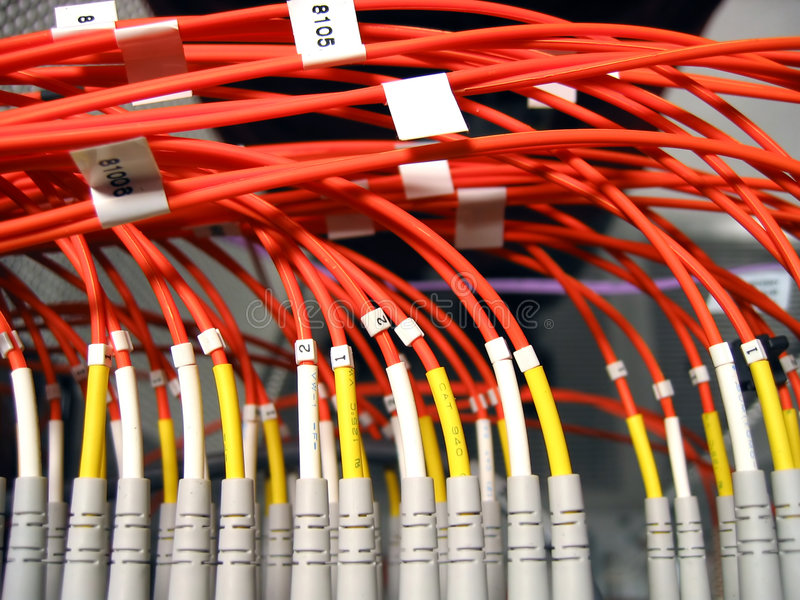 Fiber Optical Network royalty free stock photography
