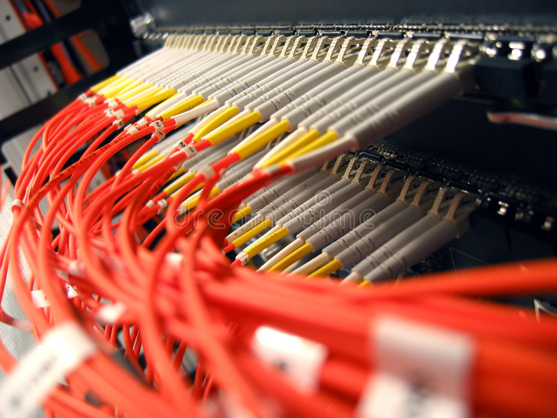 Fiber Optical Network stock images