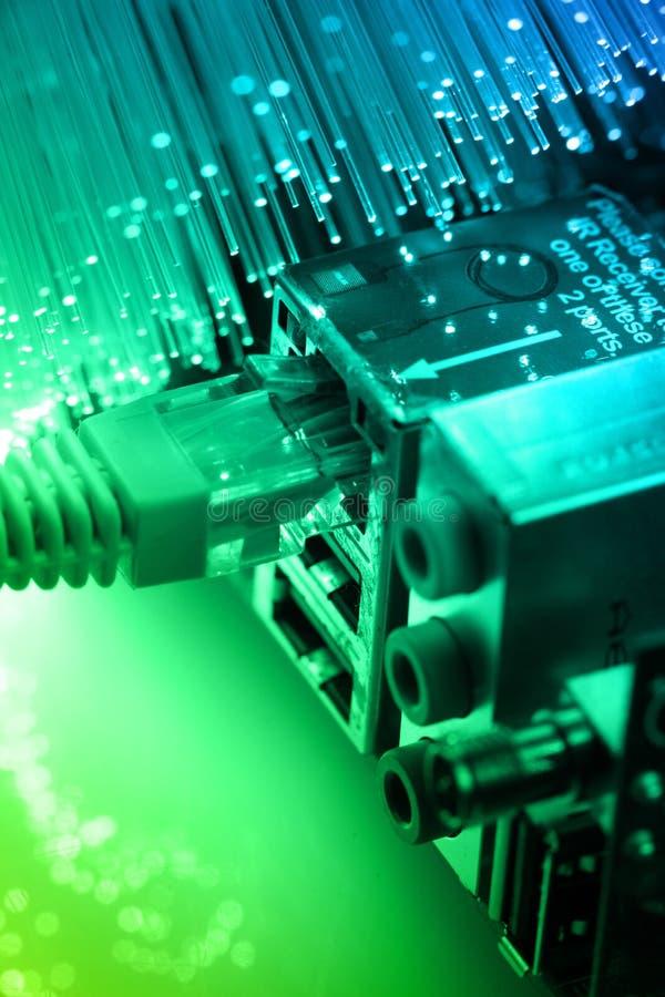 Fiber optics royalty free stock image