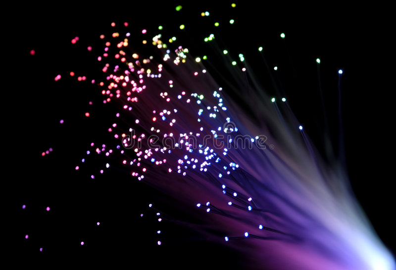 Fiber Optics stock photography