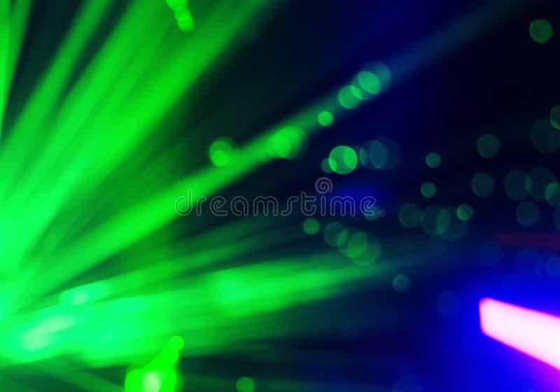 Fibra abstrata do laser do sistema ótico foto de stock