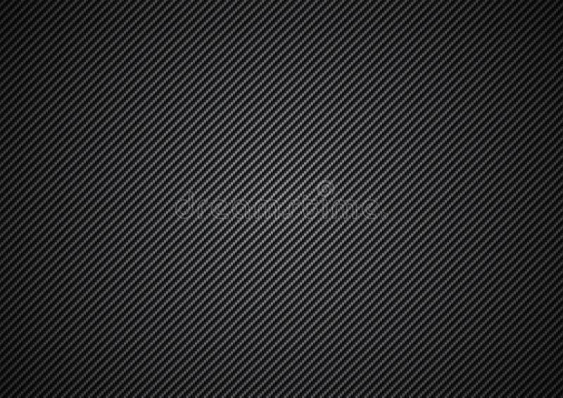 Fibra del carbón ilustración del vector