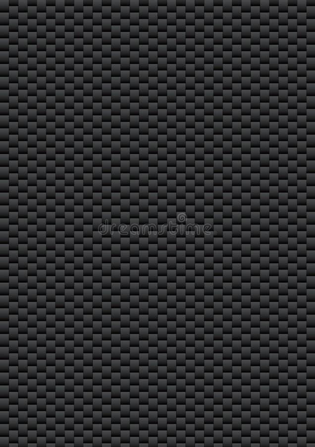 A fibra do carbono ilustração stock