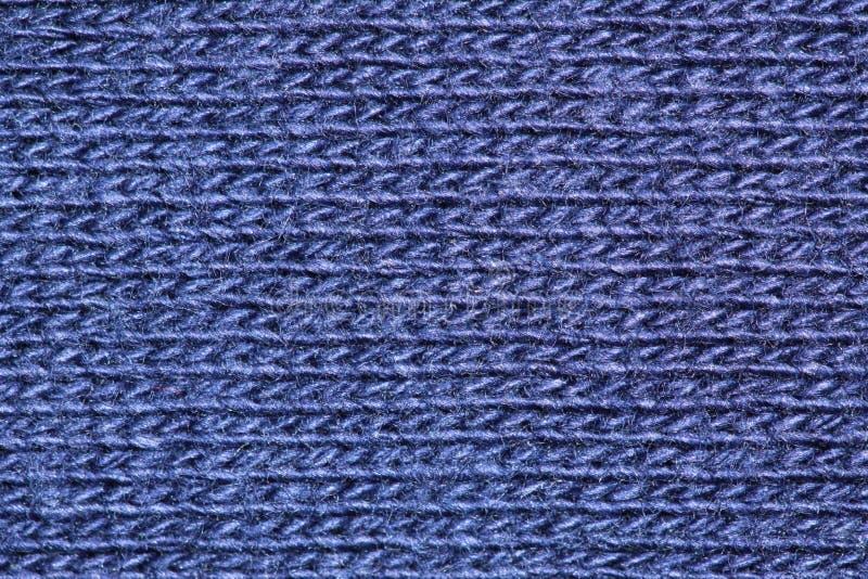 Fibras azules del algodón imágenes de archivo libres de regalías