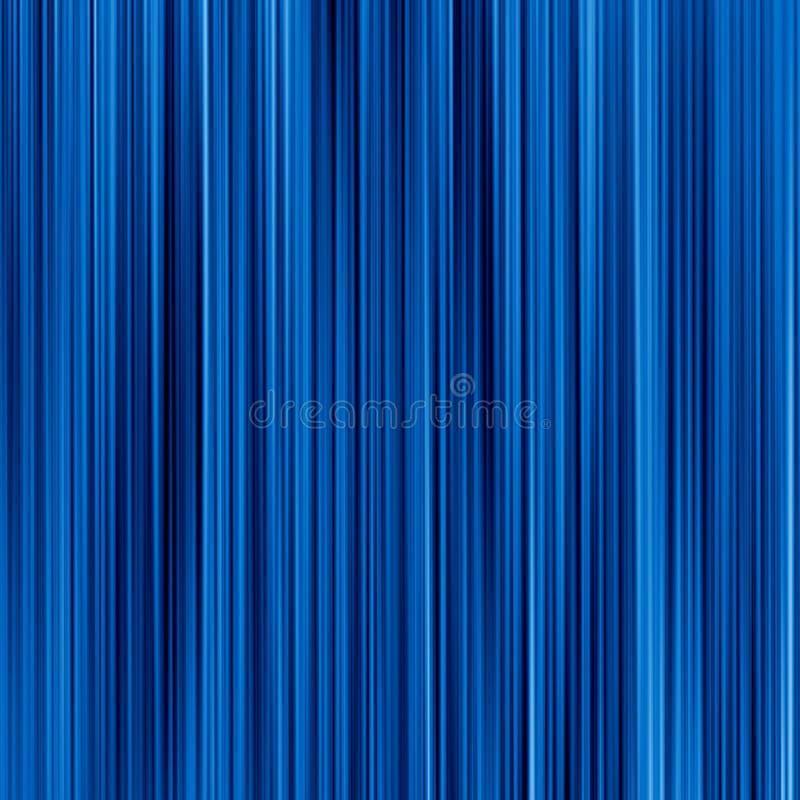 Fibras azules profundas ilustración del vector