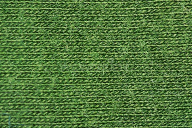 Fibras do algodão do verde floresta fotografia de stock