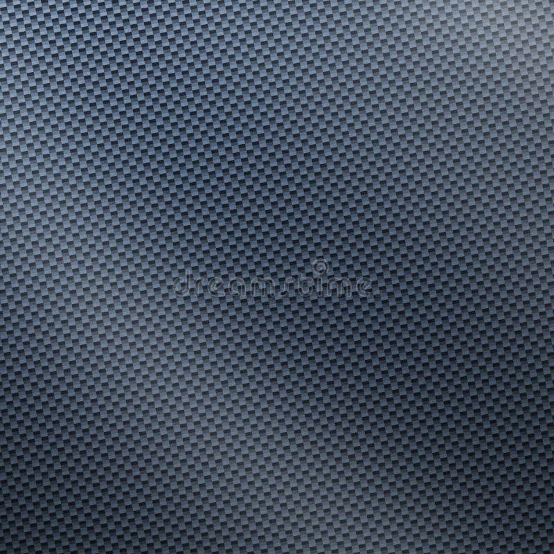 Fibre argentée de carbone photo stock