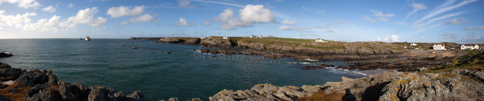 Download Fibre Optic Cable Coming Ashore Stock Photo - Image of anglesey, ship: 28074646