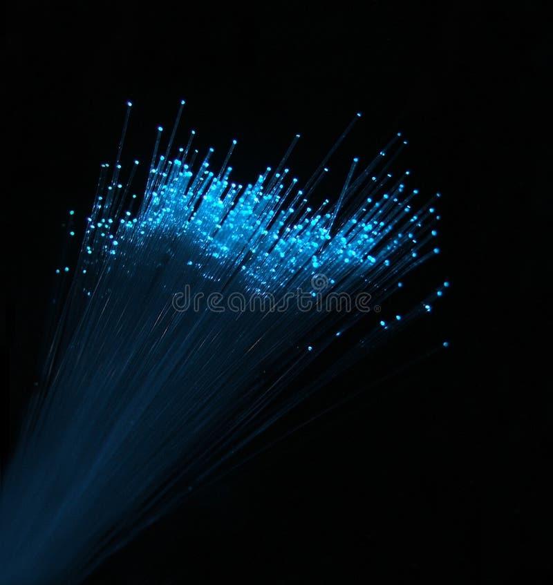 Fibre optics stock photo